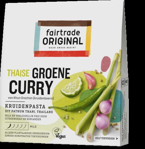 Thaise groene curry kruidenpasta