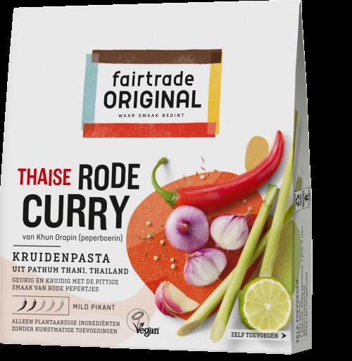 Thaise rode curry kruidenpasta
