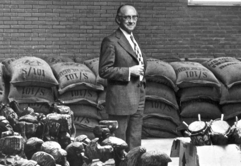 Paul Meijs met 50 ton eerlijke koffie