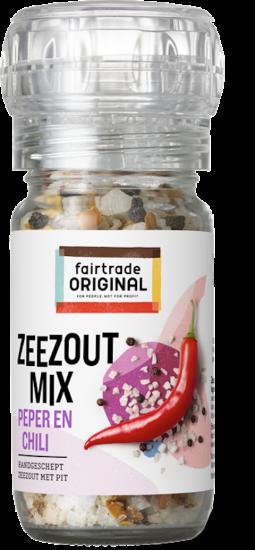 Zeezoutmix peper en chili