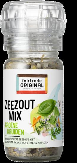 Zeezoutmix groene kruiden