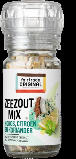 Zeezoutmix kokos, citroen en koriander