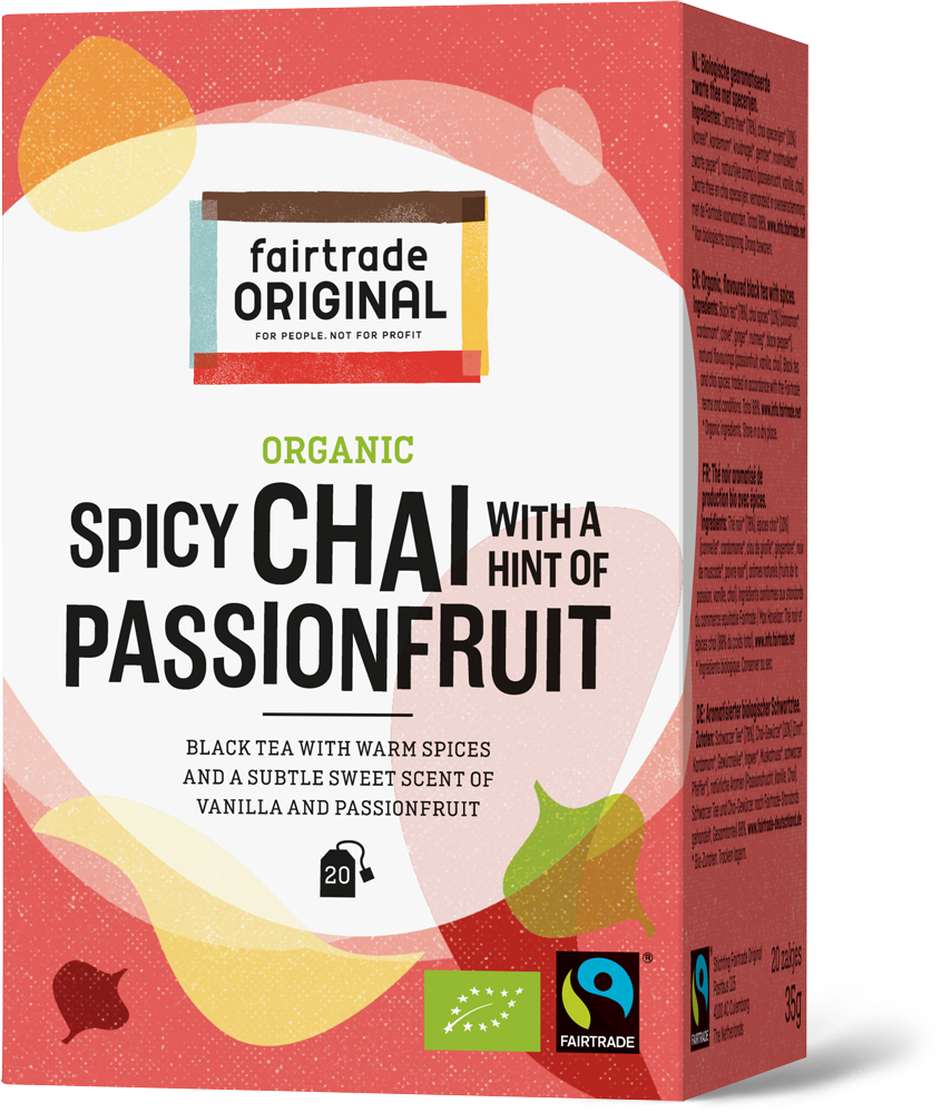 Organic Spicy chai with passionfruit