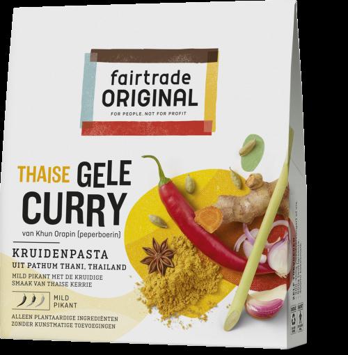 Thaise Gele Curry kruidenpasta