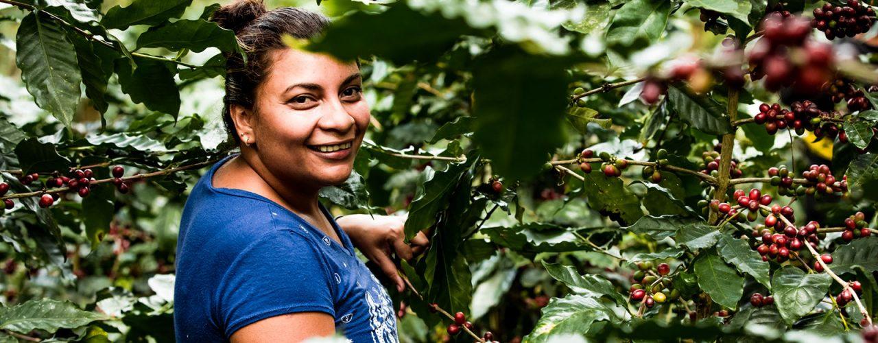 Koffieboerin Toñia in Nicaragua