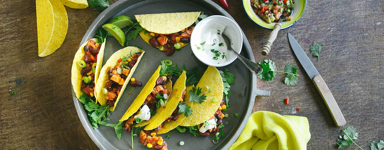 taco's met jackfruit