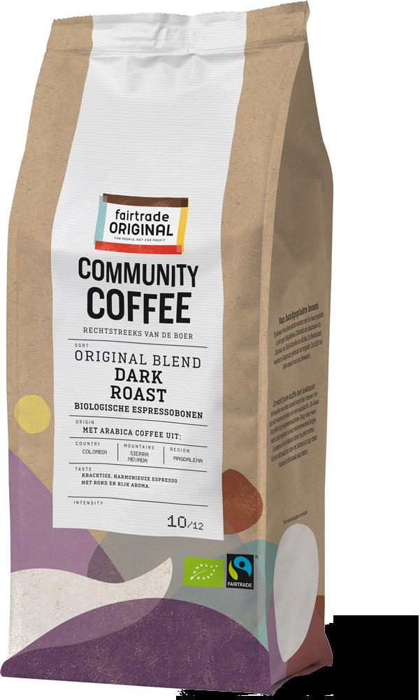 Community Coffee Espressobonen Dark Roast