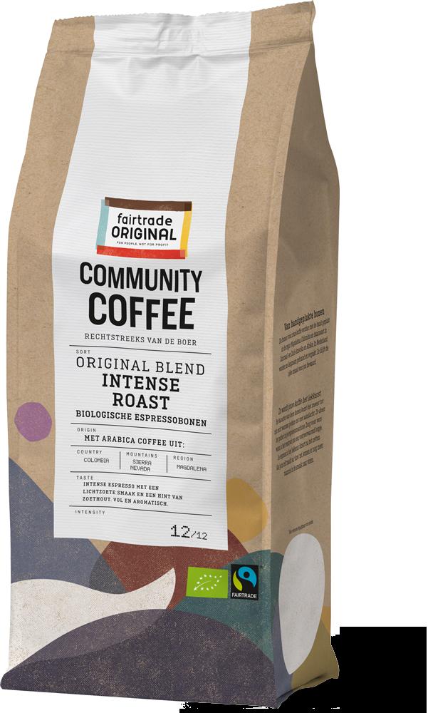 Community Coffee Espressobonen Intense Roast