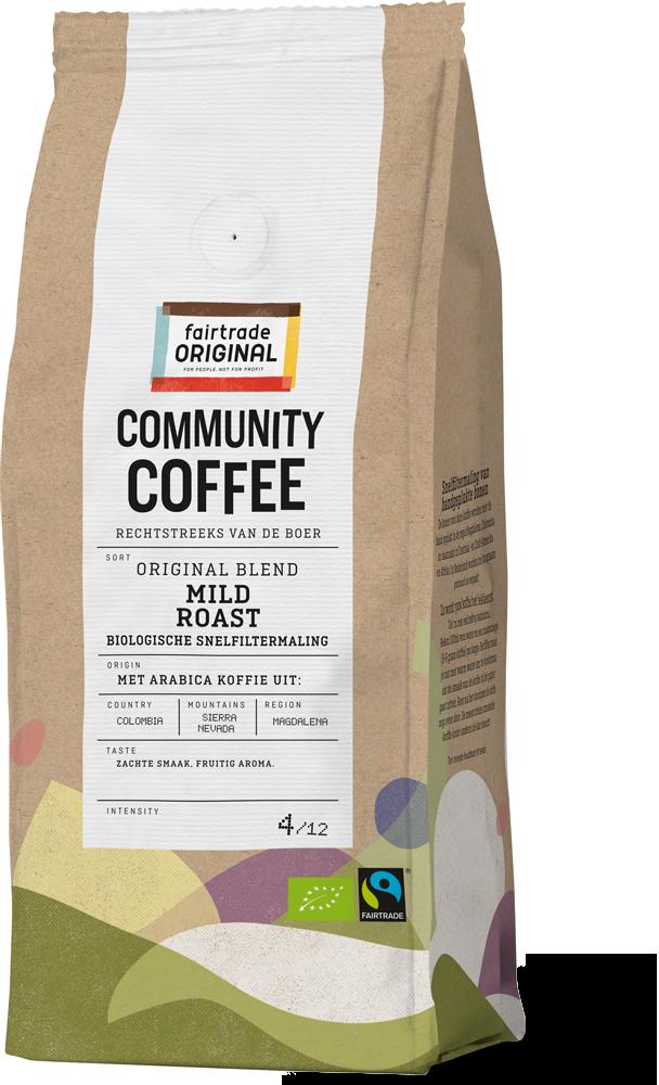 Community Coffee Mild snelfiltermaling