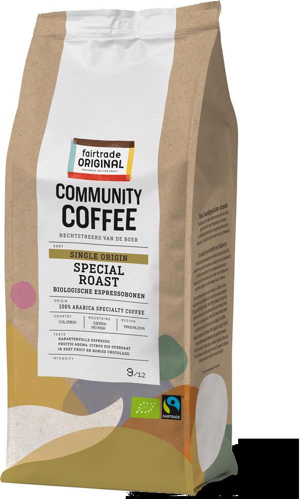 Community Coffee Single Origin Espressobonen