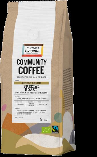 Community Coffee Snelfiltermaling Single Origin