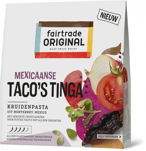Mexicaanse Taco's Tinga