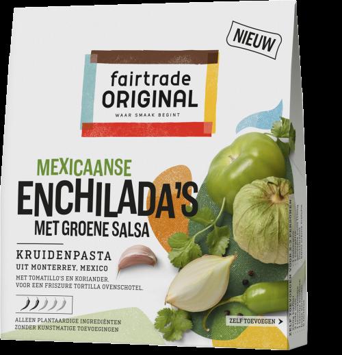 Mexicaanse Enchilada's met groene salsa