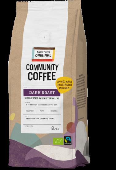 Community Coffee Snelfiltermaling Dark Roast