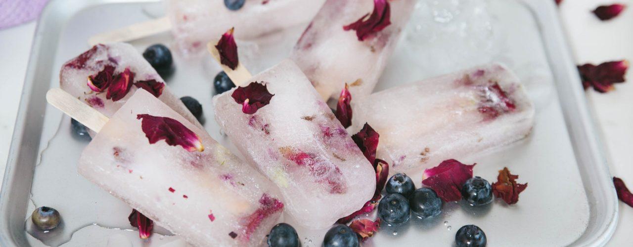 Fairtrade Original - recept - blackberryrose waterijsje