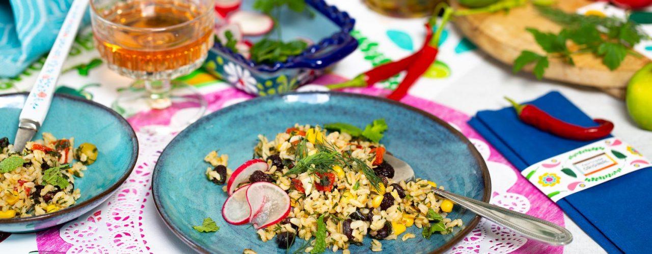 Fairtrade Original - Recept Mexicaanse rijstsalade met picadillo