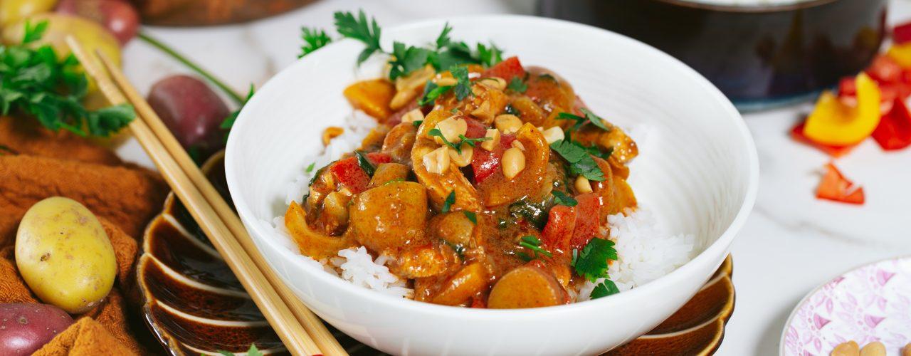 Fairtrade Original recept Massaman curry met kip