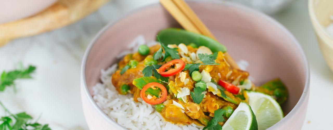 Fairtrade Original Thaise Gele Curry met jackfruit