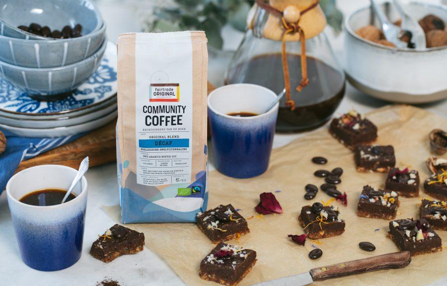 Fairtrade Original, Sfeerfoto Community Coffee Decaf