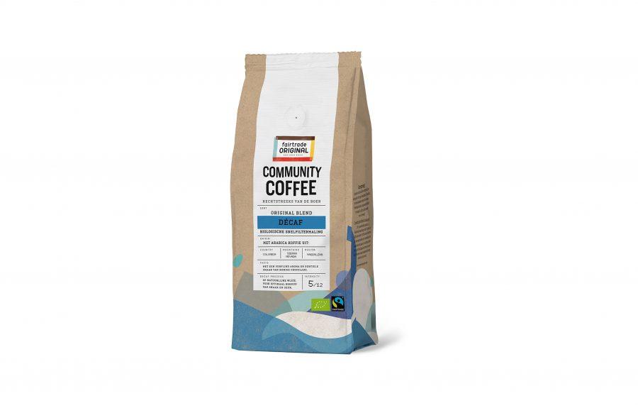 Fairtrade Original, Packshot Community Coffee Décaf