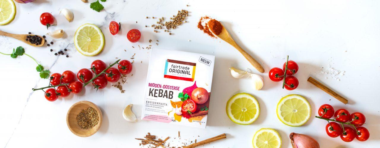Nieuw: Kebab Kruidenpasta van Fairtrade Original