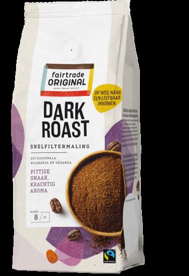Koffie Dark Roast Snelfiltermaling