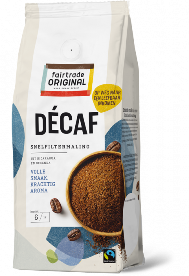 Koffie Décaf Snelfiltermaling