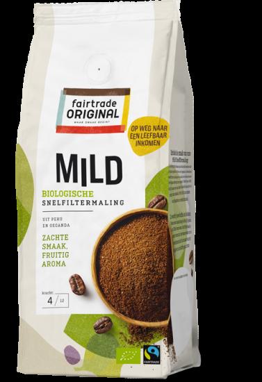 Biologische Koffie Mild Snelfiltermaling